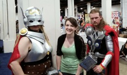 I met these Thor people!